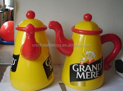 Factory inflatable ketchup bottle ,teapot inflatable