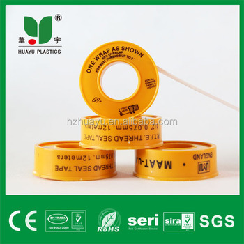 High Quality 100% thread seal tape for water and gas