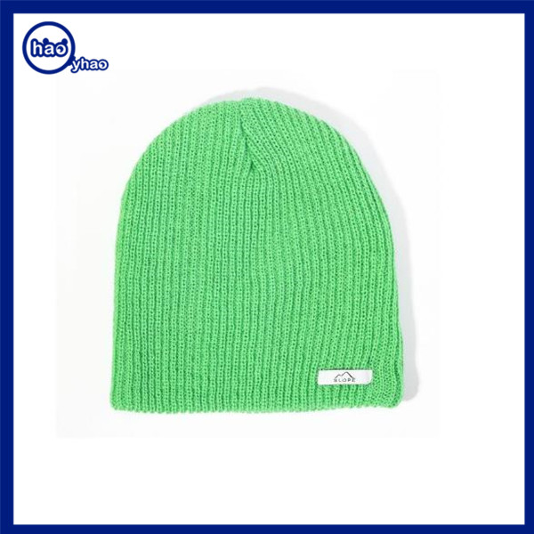 Yhao amazon supplier custom hats knit hats and caps men women fashion winter knit beanie hat