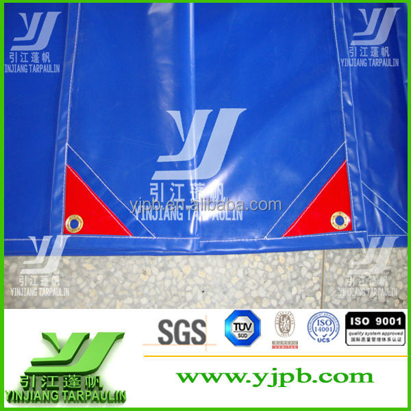 Factory Supplier Heavy Duty Truck Cover Coated PVC Tarpaulin