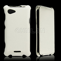 2013 Newest hot pressing vertical leather portfolio case for iphone 5