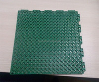 basketball court flooring interlocking tiles PP interlock with drainage System