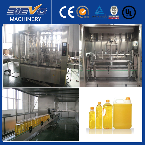 Automatic 8 Heads Soybean Oil Filling Machine Price
