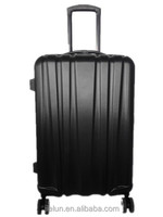 ABS PC zipper trolley case bag / luggage set /double wheel trolley case