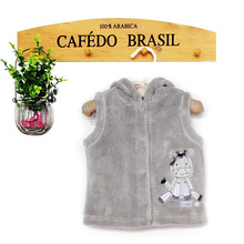 baby clothes clothing sweet vest baby vests with Hood