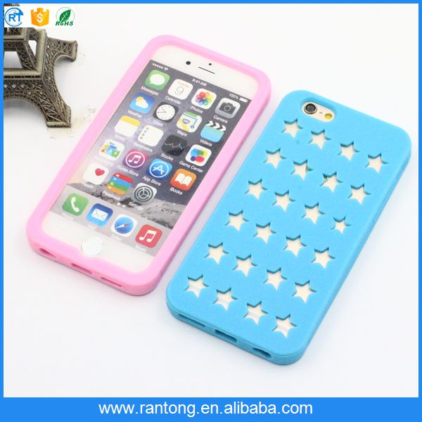 Hot promotion custom design silicon cellphone case from manufacturer