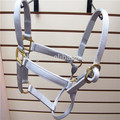 Comfortable And Adjustable Nylon Horse Halter With Solid Brass Hardware