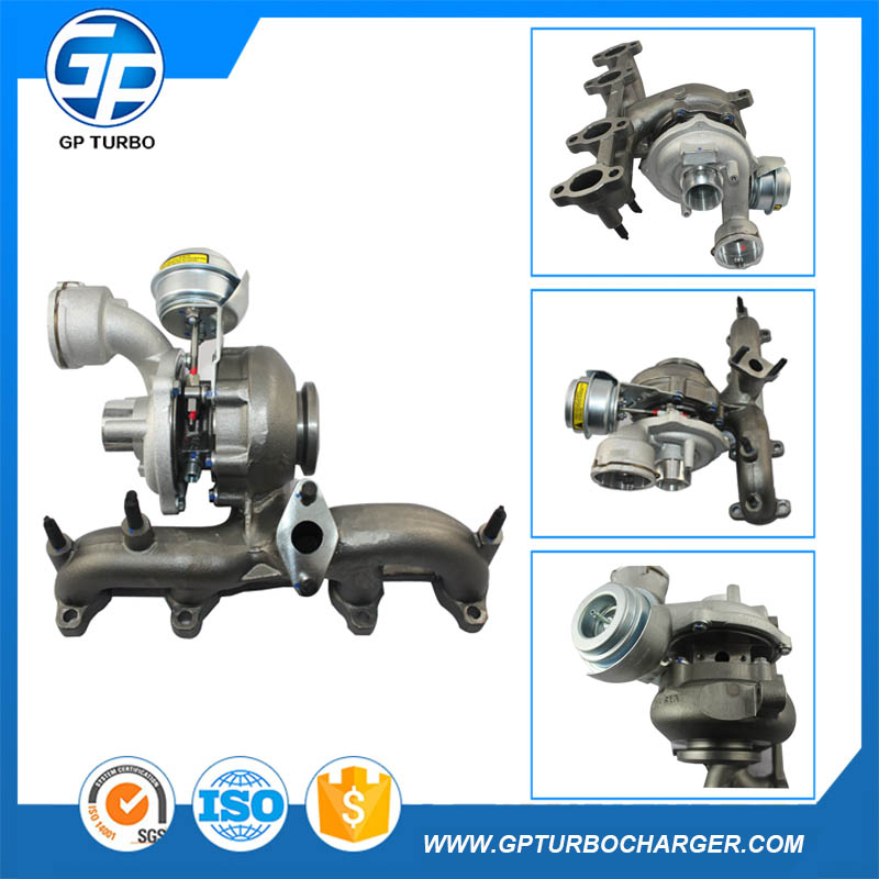 Six big department 038253056E turbo for Europe market