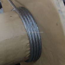 7x19 iwrc ungalvanized steel wire rope 1x7 galvanized steel messenger cable alibaba china aircraft cable