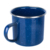Personalized Blue Speckle Camping Enamel Mug