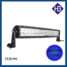 Spot flood combo 12inch 120W curved LED work light bar led grow lights 4X4 offroad fog lamp