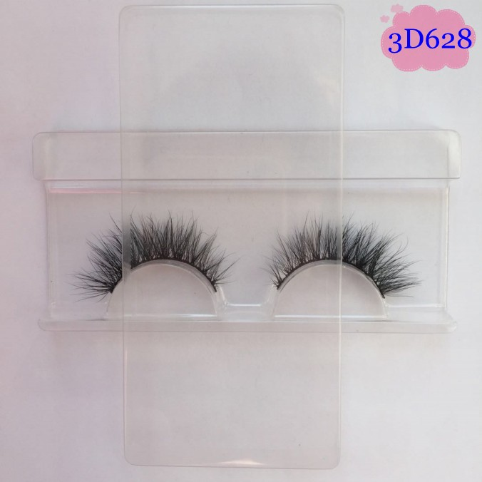 Fluffy and long lasting 3D Mink Lashes Eyelashes False Eyelashes Go with Angthing from Glam to Casual Makeup