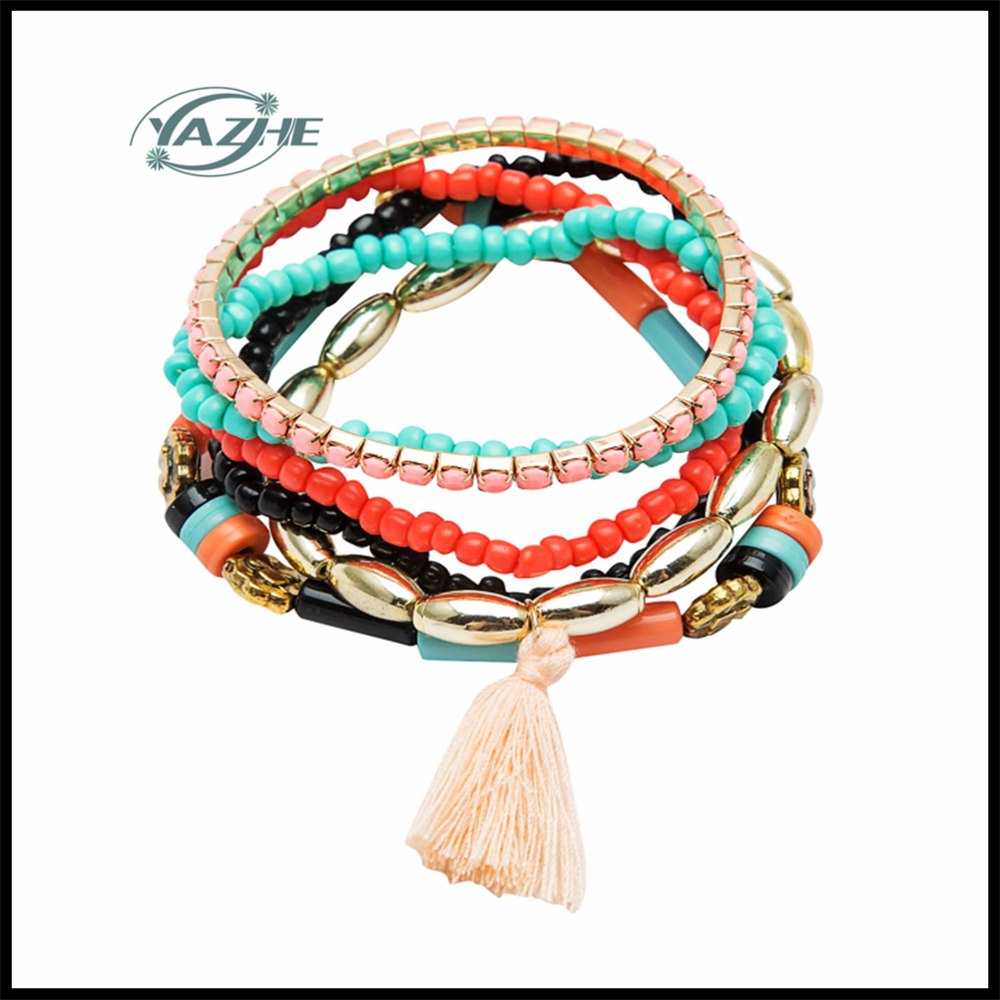 2016 Top Sale Popular New Design Colorful Beads Bracelets