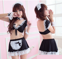 C410 Sexy Maid Cosplay Lingerie Costume Sex Uniform Sexy cosplay clothes
