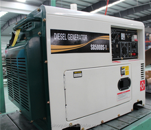 5KVA slient diesel welding generator double use with 10hp engine