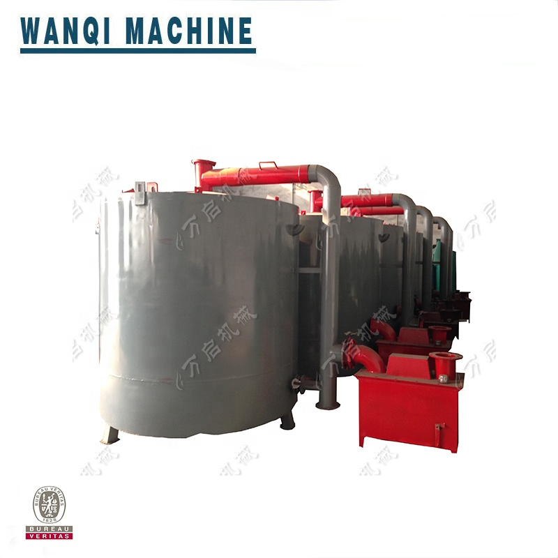 2019 wood charcoal continuous carbonizationfurnace,Vacuum carbonization klin furnace