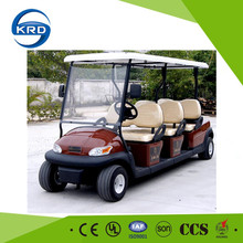 6 seats electric power car cheap old golf carts for sale