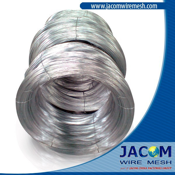 Hot Dipped Galvanized Iron Wire, Zinc Level 25 Gr/m2, Tensile Strength 800N/mm2, gauge BWG 8 or 4.19mm