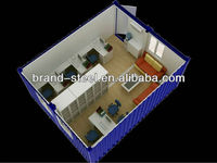 B.R.D temparary prebuilt ontainer houses for office at construction site