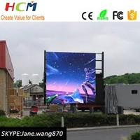Electronic sign led manufacturer P10 Outdoor advertising Full color LED Display board