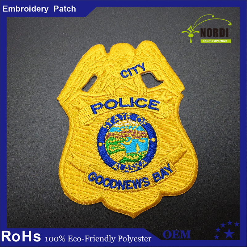embroidered shoulder patch crest