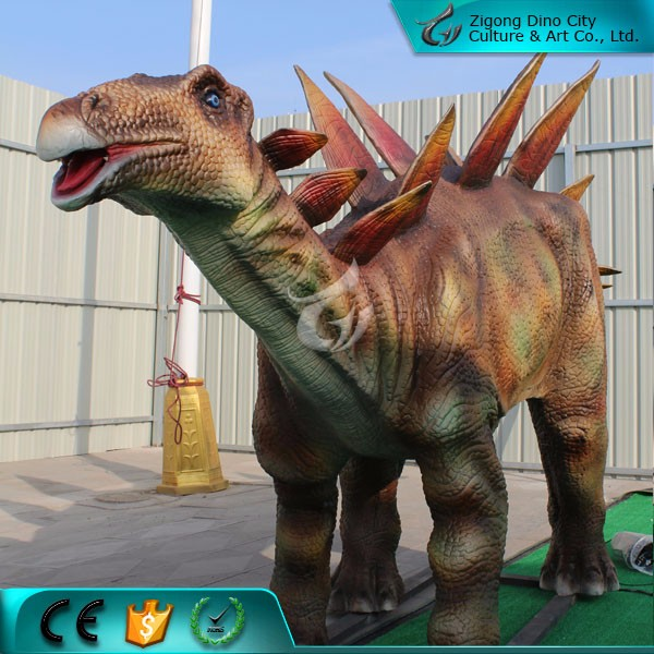 Playground Equipment Animatronic Animated Robotic Dinosaur for Zoo