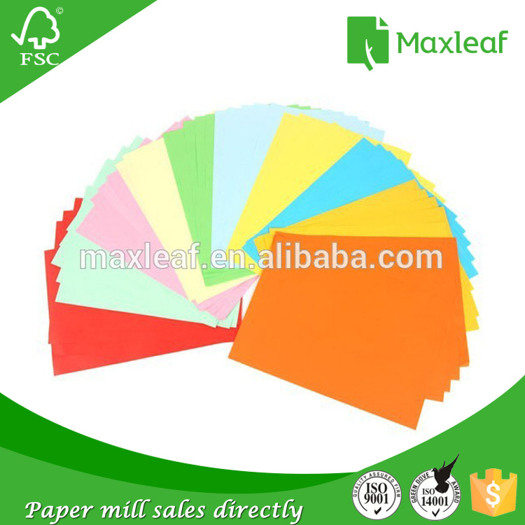 High Quality Custom logo printed professional A4 color paper at Lowest Price