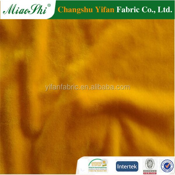 100% high quality Knitted Super Soft fleece Fabrics in china