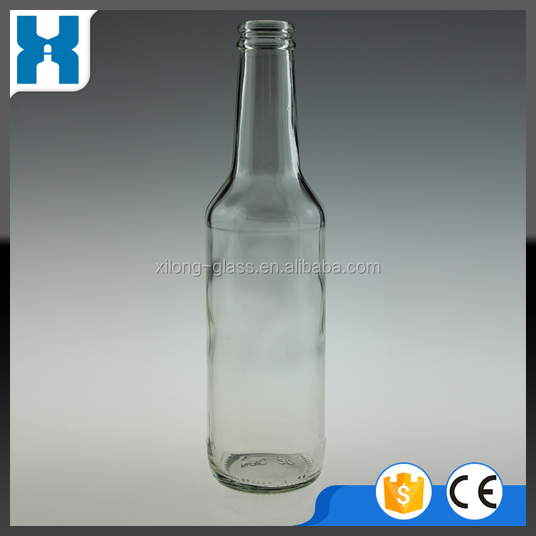275ML FLINT GLASS BOTTLE FOR ALCOHOL BEVERAGE