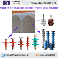 power transmission insulators cable accessories joints making LSR liquid silicone rubber