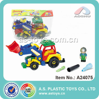 2013 New Design Funny Slide Engineering Car Toy