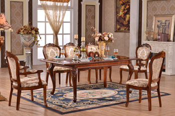 8 seater extendable dining table set modern (NG2882 & NG2635A & NG2635)