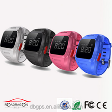 Personal kids wrist watch gps tracker TK-5W with Geo-fence and historical route display