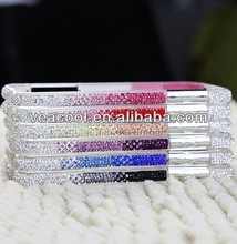 Colorful Diamond Crystal Bumper Frame Case For iPhone 4 4S 5 5S
