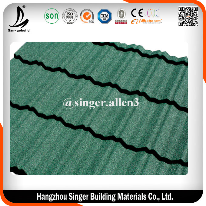 High quality Building Materials Steel Metal Spanish Roofing Tiles For Sale