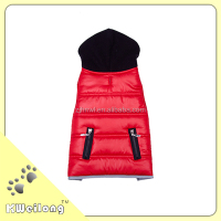funny quilted dog coat/pet coat/pet cloth