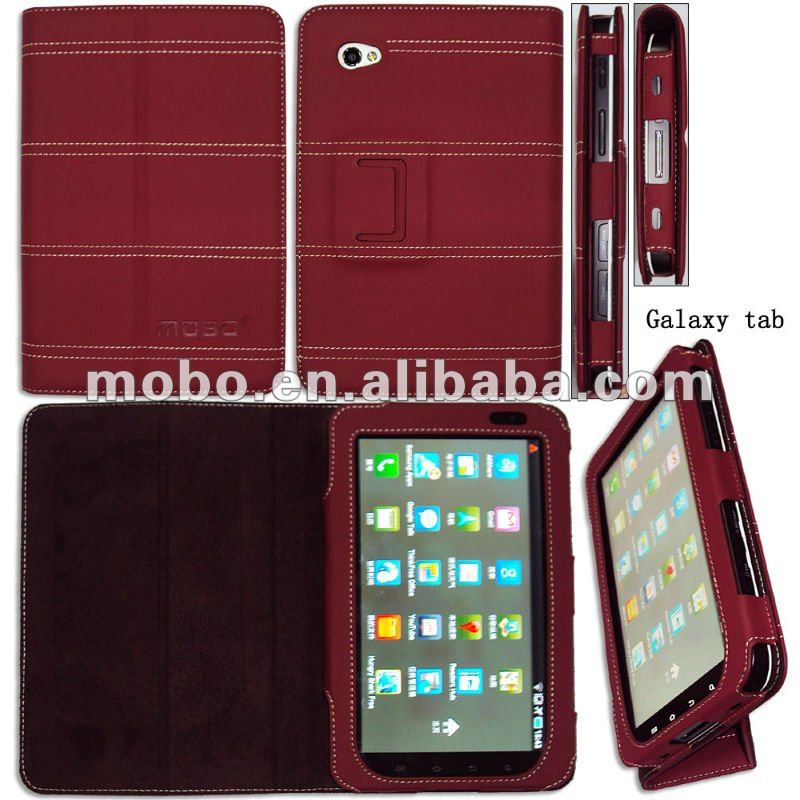 Flip leather case for Samsung Galaxy P1000