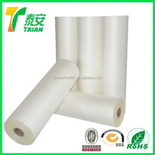 china plastics BOPP thermal laminating film for digital printing