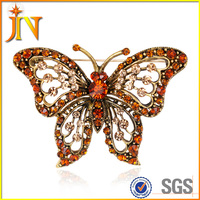 BH0056 Vintage Butterfly Brooch For Women