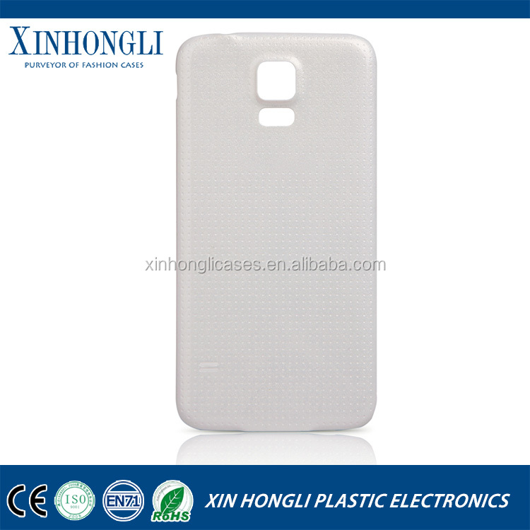 100% New OEM Housing Battery Back Cover for Samsung Galaxy S5 i9600 Replacement Door Case Ultra thin with silicone layer