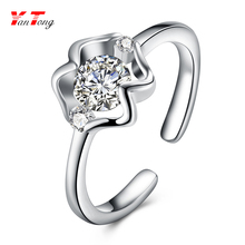 Hot Selling Design Chic Plated Silver 12 Zodiac Sign Opening Adjustable Rings for Girls