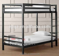 School furniture cheap modern new design dorm all cast iron double beds designs