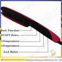 2016 New Design Household Hair Straightener Comb Ionic Hair Straightener For thick Hair type