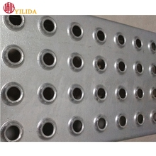 Foot pedal non-slip stairs/antiskid aluminum perforated sheet for walkway/ tread plate