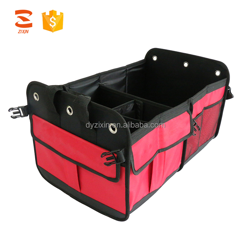 Nonslip Heavy Duty Durable SUV Vehicle Truck Car Trunk Organizer For AUTO Tools