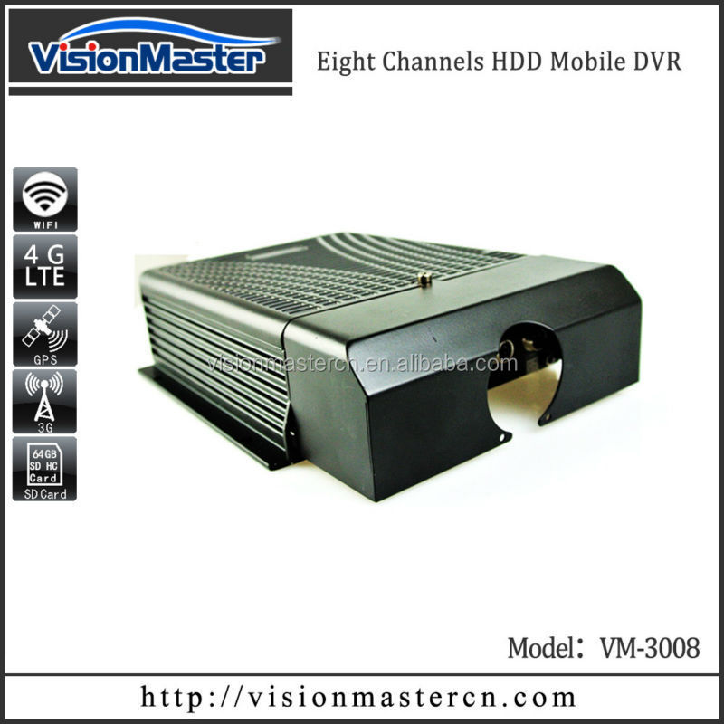 Provide oem service Industrial 8CH MDVR 3G HDD with fleet management