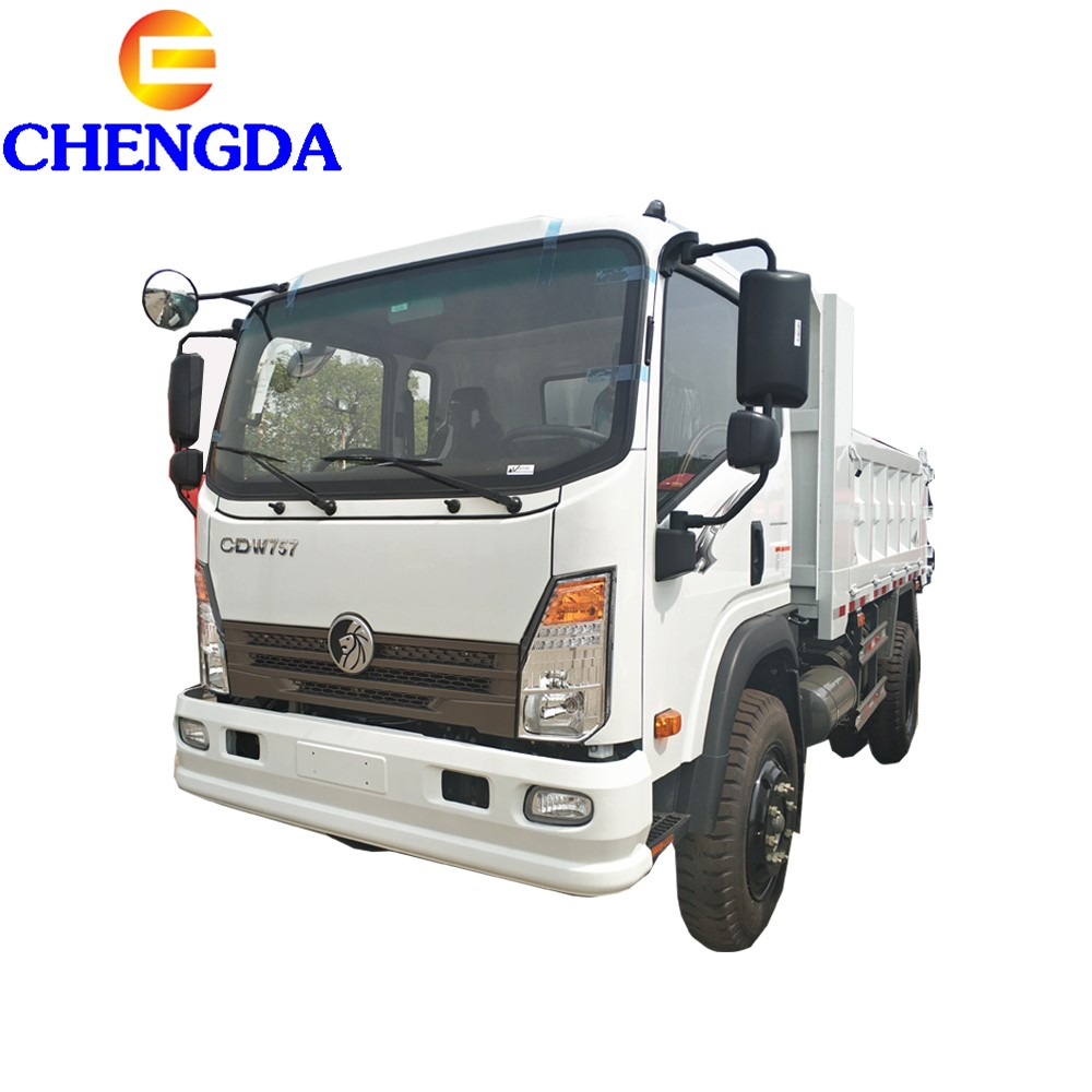 China low price light 3 ton 5ton 7 ton 10 ton mini dump truck cargo truck for sale