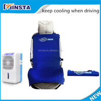 made in china keep cooling-- 6w 12v air conditioner portable car seat cushion with water cooling