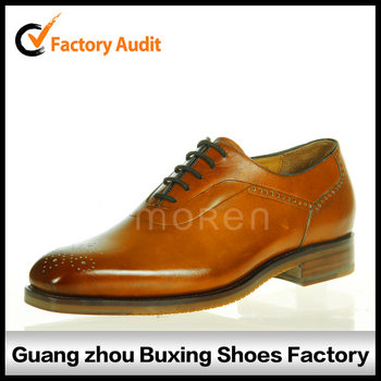 Fashionable men hand sewing shoes for men