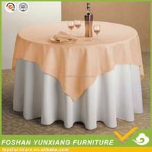 hotel wedding decoration cheap round table cover